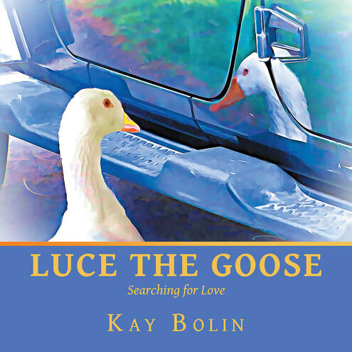 Image of book cover: Luce the Goose: Searching for Love by Kay Bolin